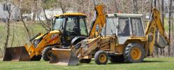 """""""When a JCB backhoe lasts more than 32 years, you replace it with another JCB,"""" said Jim Leighton, superintendent of Limestone Water and Sewer District."""