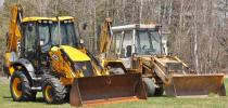 Jim and his team contacted Northland JCB, the JCB dealership they had worked with for parts on the old JCB machine.