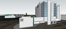 Artist rendering of the proposed Renovo Hotel to be built in time for the 2020 Fort Worth Stock Show and Rodeo.