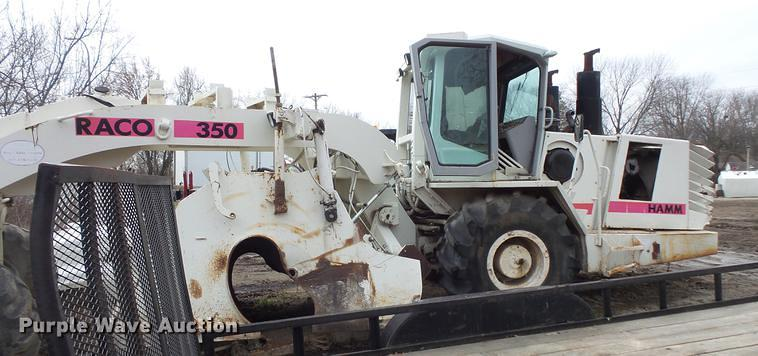 Detail photo of  Hamm Raco 350 from Construction Equipment Guide