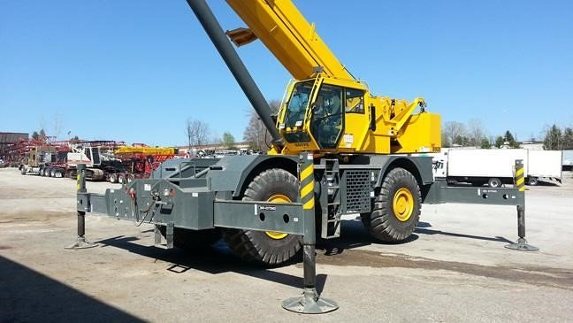 Detail photo of 2012 Grove RT890E from Construction Equipment Guide