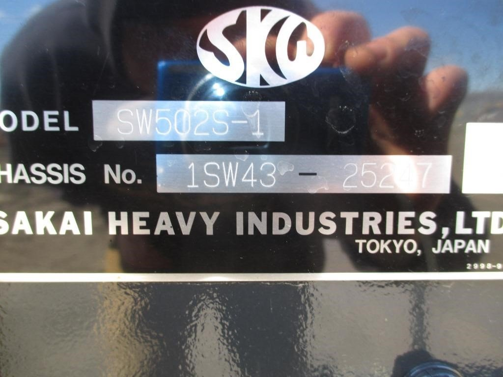 Detail photo of 2016 Sakai SW502S-1 from Construction Equipment Guide