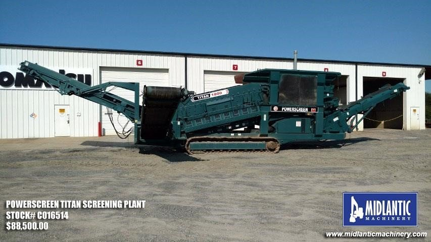 Detail photo of  Powerscreen TITAN 1800 from Construction Equipment Guide