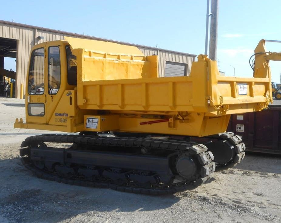 Detail photo of 1996 Komatsu CD50-1 from Construction Equipment Guide