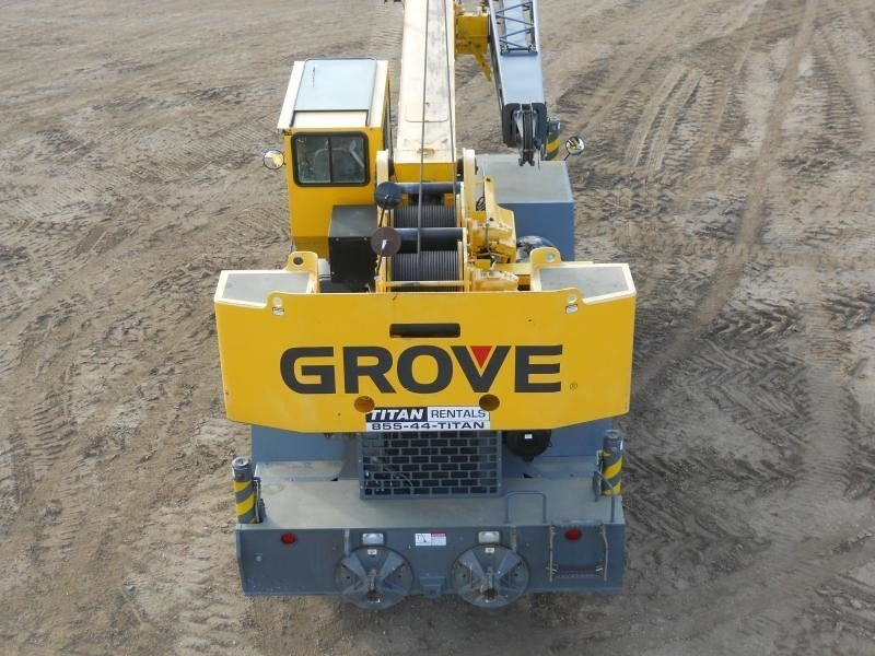 Detail photo of 2008 Grove RT600E from Construction Equipment Guide
