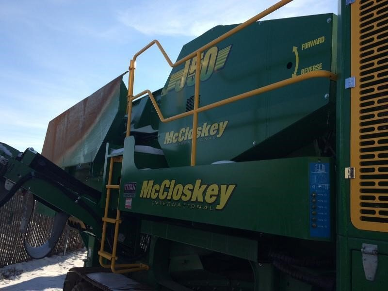 Detail photo of 2015 McCloskey J50 from Construction Equipment Guide
