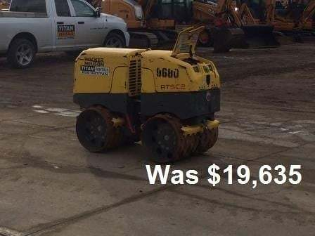 Detail photo of 2011 Wacker Neuson RT820 from Construction Equipment Guide