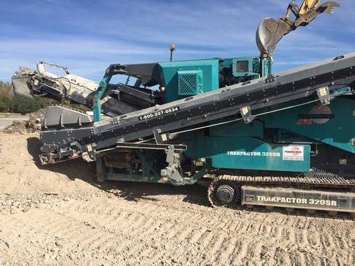 Detail photo of 2013 Powerscreen Trakpactor 320 SR from Construction Equipment Guide