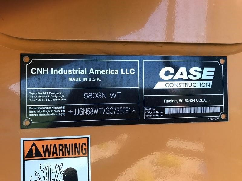 Detail photo of 2016 Case 580 SN from Construction Equipment Guide
