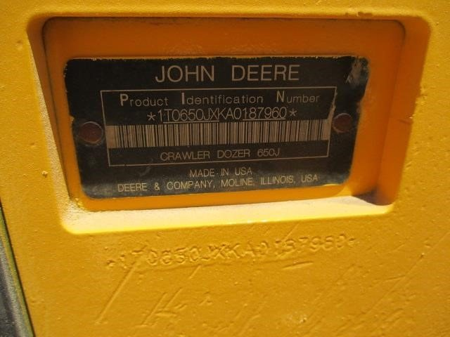 Detail photo of 2010 John Deere 650J LT from Construction Equipment Guide