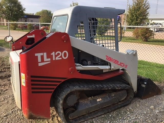 Detail photo of 2010 Takeuchi TL120 from Construction Equipment Guide