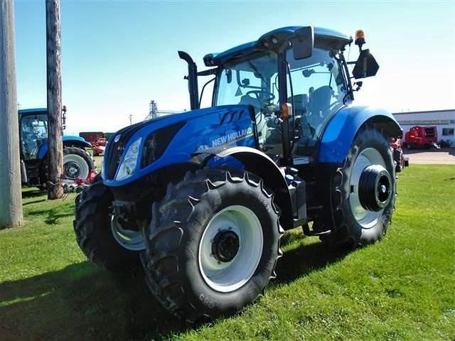 Detail photo of 2017 New Holland T6.155 from Construction Equipment Guide