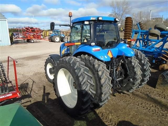 Detail photo of 2008 New Holland T8050 from Construction Equipment Guide