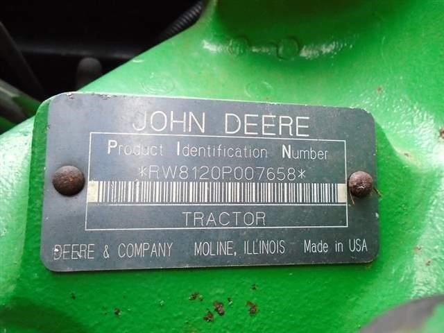 Detail photo of 2002 John Deere 8120 from Construction Equipment Guide