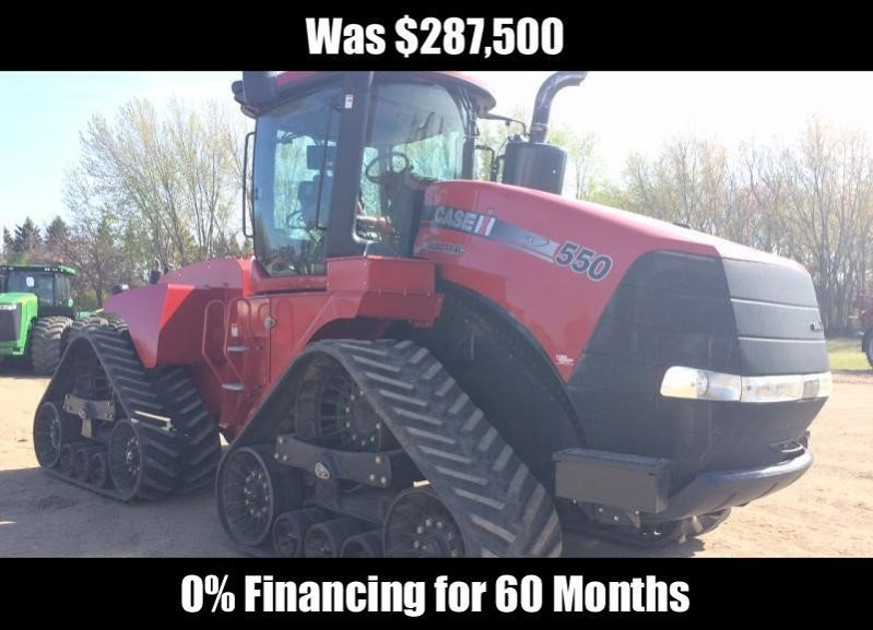 Detail photo of 2011 Case IH STEIGER 550 QUADTRAC from Construction Equipment Guide