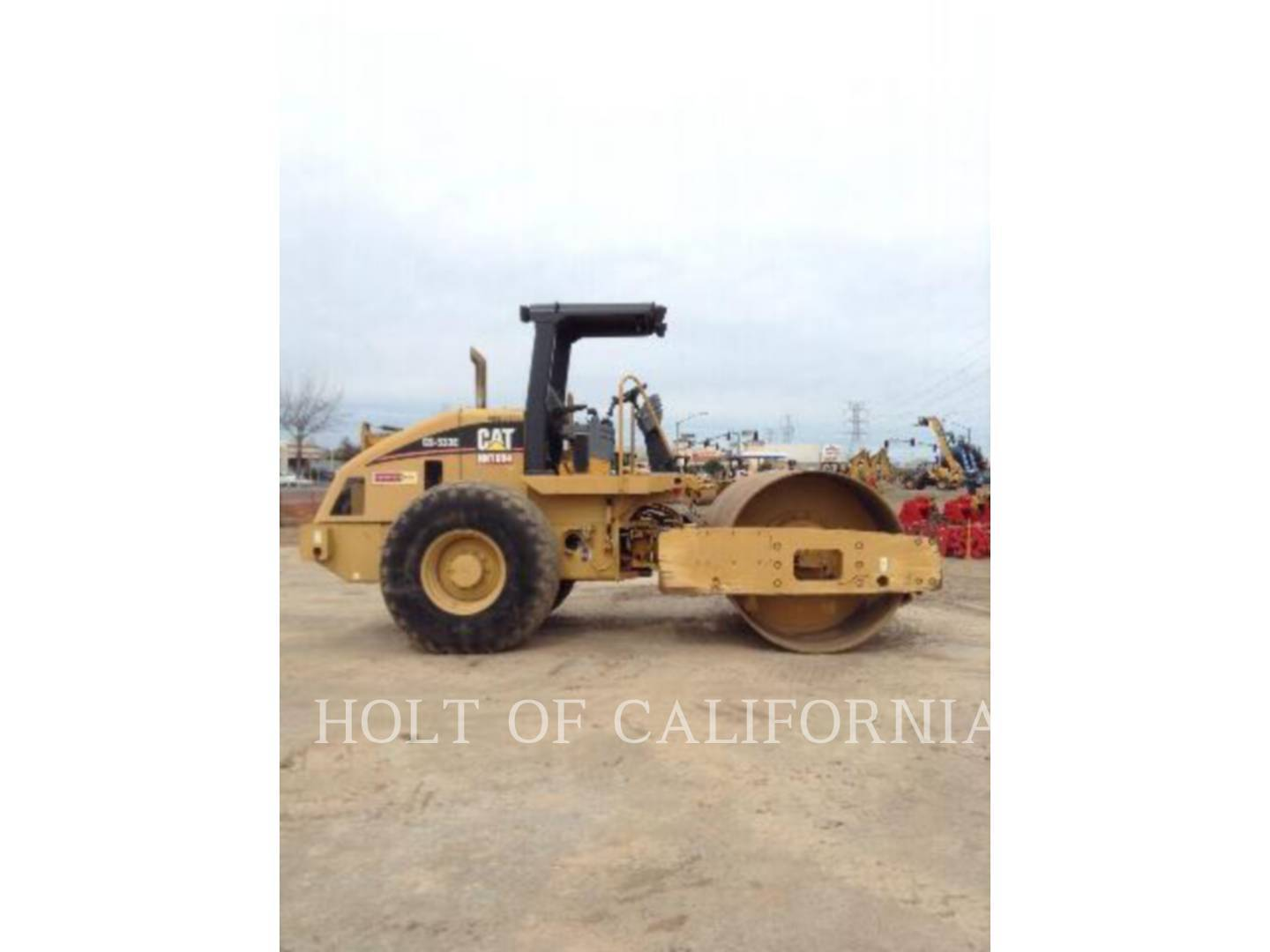 Detail photo of 2006 Caterpillar CS-533E from Construction Equipment Guide
