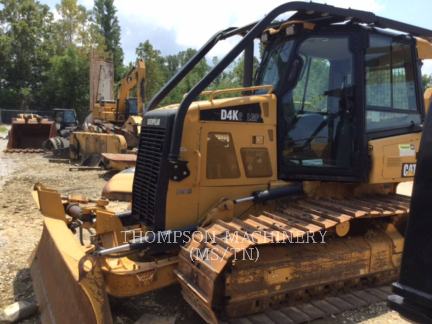 Detail photo of 2014 Caterpillar D4K LGP from Construction Equipment Guide