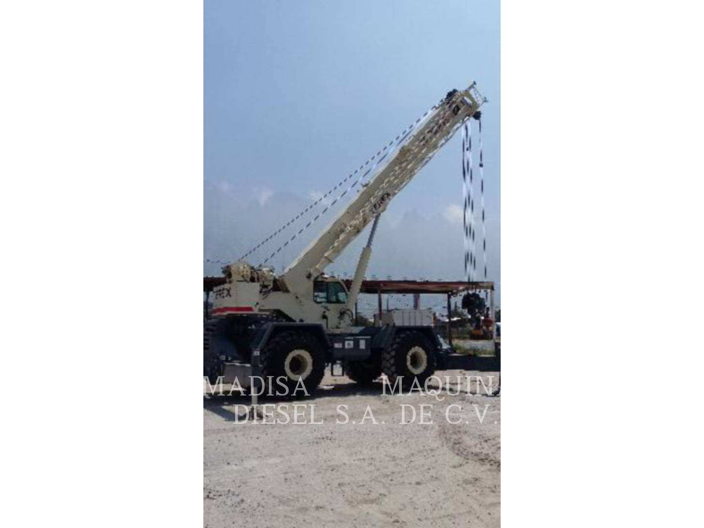 Detail photo of 2007 Terex RT 665 from Construction Equipment Guide