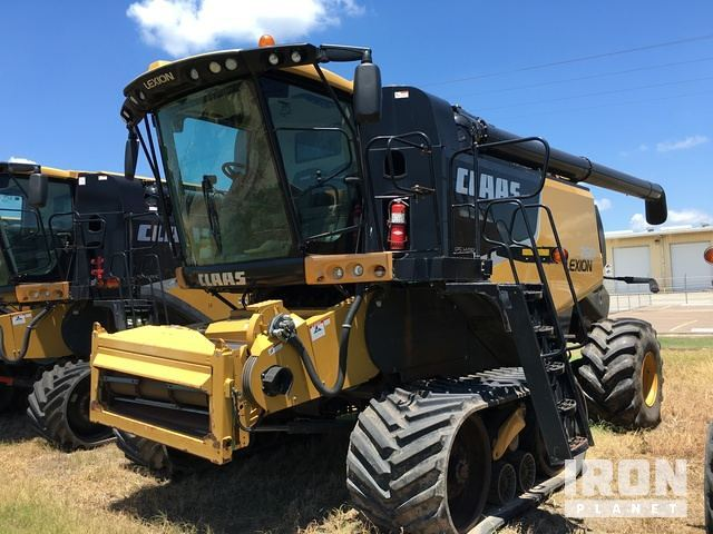 Detail photo of 2011 Claas LEXION 760TT from Construction Equipment Guide