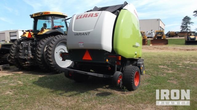 Detail photo of  Claas VARIANT 380RC from Construction Equipment Guide