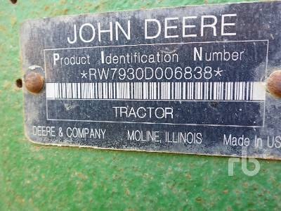 Detail photo of 2008 John Deere 7930 from Construction Equipment Guide