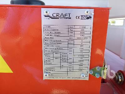 Detail photo of 2017 Craft C9000 from Construction Equipment Guide