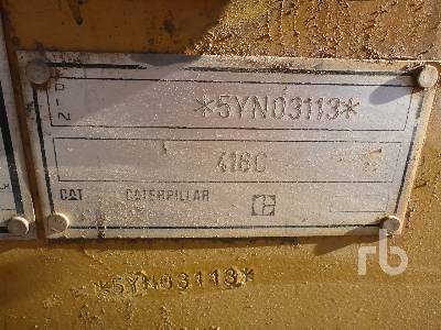 Detail photo of 1997 Caterpillar 416C from Construction Equipment Guide