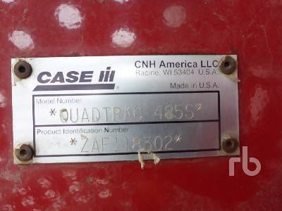 Detail photo of 2010 Case IH 485S from Construction Equipment Guide