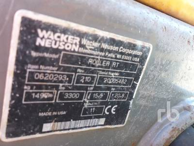 Detail photo of 2011 Wacker Neuson RTSC2 from Construction Equipment Guide
