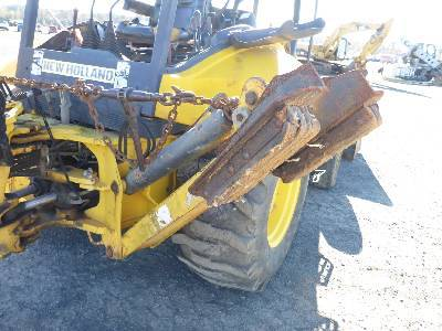 Detail photo of 2007 New Holland B95 from Construction Equipment Guide