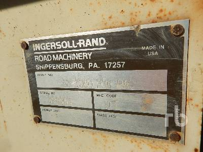 Detail photo of 1999 Ingersoll Rand SD100D from Construction Equipment Guide