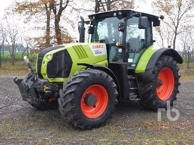 Detail photo of 2014 Claas ARION 640CEBIS from Construction Equipment Guide