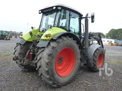 Detail photo of 2009 Claas ARION 640CEBIS from Construction Equipment Guide