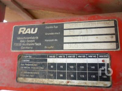 Detail photo of  RAU SPRIDOMAT D2 from Construction Equipment Guide