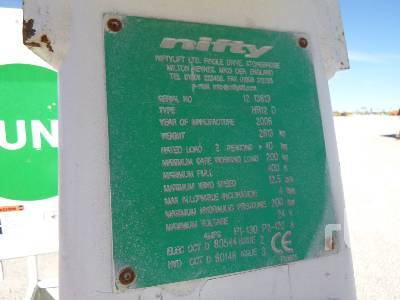 Detail photo of 2006 Nifty Lift HR12D from Construction Equipment Guide