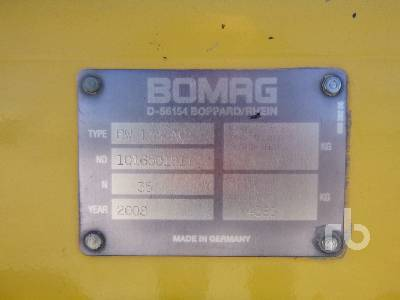 Detail photo of 2008 Bomag BW 138 AC from Construction Equipment Guide