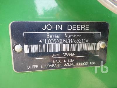 Detail photo of 2013 John Deere 640D from Construction Equipment Guide