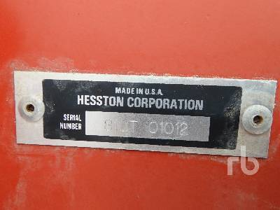 Detail photo of 1994 Hesston 8100 from Construction Equipment Guide
