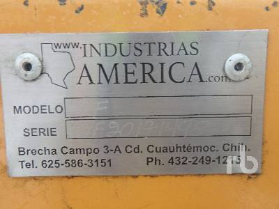 Detail photo of 2017 INDUSTRIAS AMERICA 10F from Construction Equipment Guide