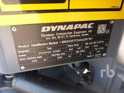 Detail photo of 2017 Dynapac CC800 from Construction Equipment Guide