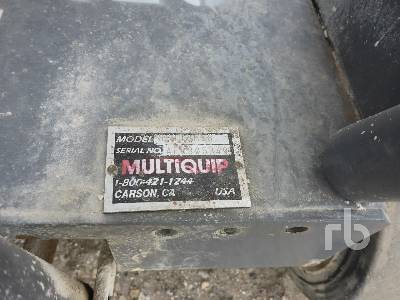 Detail photo of  Multiquip SP113H18 from Construction Equipment Guide