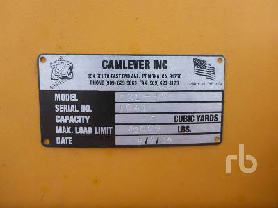 Detail photo of 2014 Camlever CXL500 from Construction Equipment Guide
