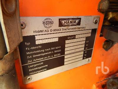 Detail photo of 2007 Hamm HD10CVV from Construction Equipment Guide