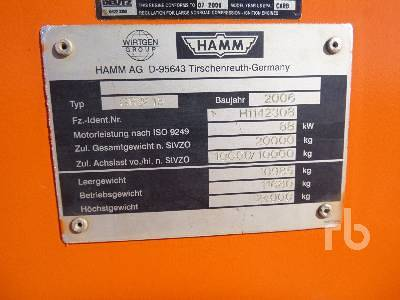 Detail photo of 2006 Hamm GRW15 from Construction Equipment Guide