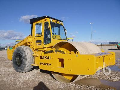 Detail photo of  Sakai SV900DV from Construction Equipment Guide