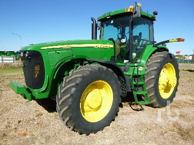Detail photo of 2005 John Deere 8520 from Construction Equipment Guide