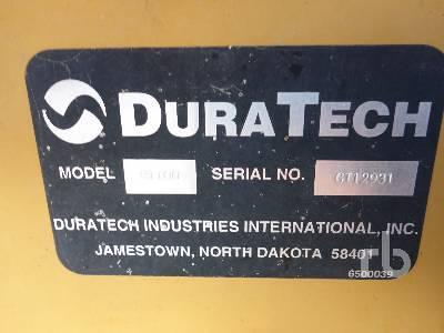 Detail photo of  DuraTech H1100 from Construction Equipment Guide