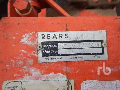 Detail photo of  REARS KMW10G920L18 from Construction Equipment Guide