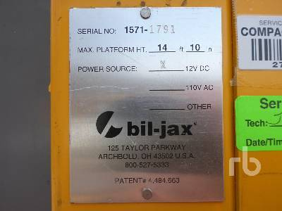 Detail photo of  Bil Jax XLT1571 from Construction Equipment Guide