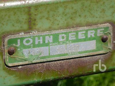 Detail photo of  John Deere VIBERSHANK 1000 from Construction Equipment Guide